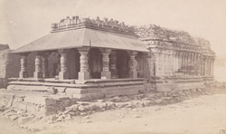 General view of the Mallikarjuna Temple, Lakkundi